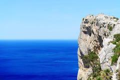 The Cape Formentor in Mallorca. Island, Spain Stock Photo