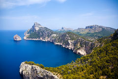 Cape Formentor in Mallorca Royalty Free Stock Photos