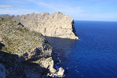 Cape Formentor. Mallorca, Spain Royalty Free Stock Photography