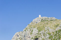 Cape Formentor and the Mediterranean Sea. Stock Image