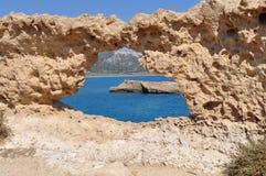 Cape Fourni,island Rhodes,Greece Royalty Free Stock Photography
