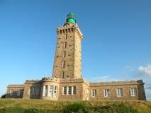 Cape Frehel Lighthouse. On the coast of France Stock Photos