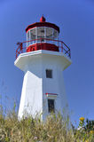 Cape Gaspe Lighthouse, Stock Images