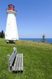 Cape George Lighthouse. In Antigonish County Nova Scotia Canada Stock Photography
