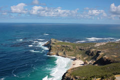Cape of Good Hope. Beautiful view of Cape of Good Hope in South Africa royalty free stock photos