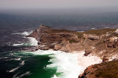 Cape of Good Hope. (view from Cape Point), Table Mountain National Park, near Cape Town, South Africa Stock Photos