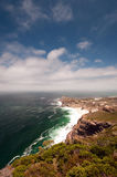 Cape of Good Hope. (view from Cape Point), Table Mountain National Park, near Cape Town, South Africa Royalty Free Stock Photography
