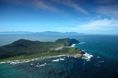 Cape of Good Hope. The Cape of Good Hope (and Cape Point) is often thought of as being the southernmost point in Africa, and the dividing point between the Royalty Free Stock Photos