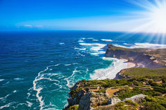 Cape of Good Hope in the Atlantic Royalty Free Stock Photos