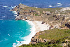 Cape of Good Hope-Beach Bay. Beacch Bay close to the Cape of Good Hope Stock Photo