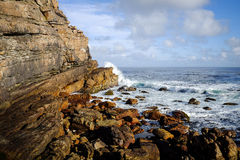 Cape of Good Hope. Beautiful afternoon at Cape of Good Hope, Cape Town royalty free stock photography
