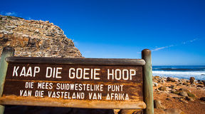 Cape of Good Hope. At the Cape of Good Hope South Africa Royalty Free Stock Images