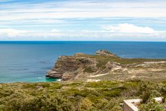 Cape of Good Hope. Cape Peninsula Atlantic ocean. Cape Town. South Africa Royalty Free Stock Image