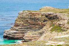 Cape of Good Hope. Cape Peninsula Atlantic ocean. Cape Town. South Africa Stock Images