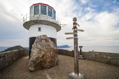 Cape of Good Hope lighthouse, South Africa Stock Images