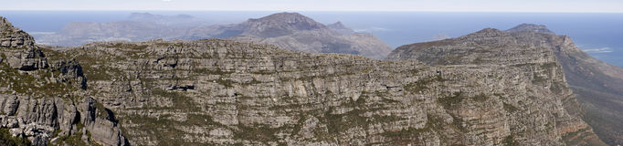 Cape of Good Hope Panorama Royalty Free Stock Images