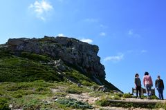 The Cape of Good Hope, Western Cape, South Africa royalty free stock photo
