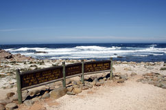 Cape of good hope signpost Royalty Free Stock Image