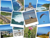 Cape of good hope - south africa  collage Stock Photography