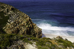 Cape of good hope in south africa Royalty Free Stock Photos