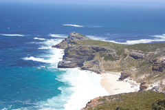 Cape of Good hope. Veiw of Cape of Good hope in South Africa Stock Photography