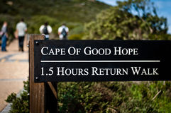 Cape of Good Hope Walk Stock Photos