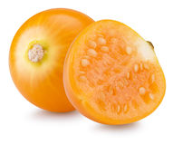 Cape gooseberries isolated on the white background Stock Photo