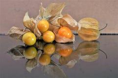 Cape gooseberry fruit. Organic food vegetable golden berry tasty stock image