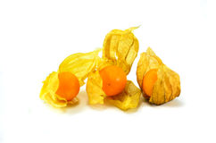 Cape gooseberry. Is a fruit with vitamins that are beneficial to the body Royalty Free Stock Images