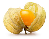 Cape gooseberry isolated on the white background Royalty Free Stock Image