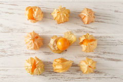 Cape gooseberry physalis fruit ground cherry organic food vegetabl Royalty Free Stock Photography