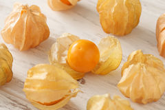 Cape gooseberry physalis fruit ground cherry organic food vegetabl Royalty Free Stock Photo