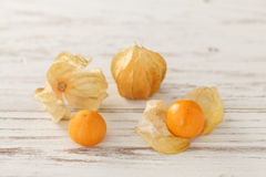 Cape gooseberry physalis fruit ground cherry organic food vegetabl Royalty Free Stock Photos
