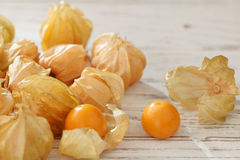 Cape gooseberry physalis fruit ground cherry organic food vegetabl Stock Image