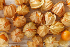 Cape gooseberry physalis fruit ground cherry organic food vegetabl Stock Photography