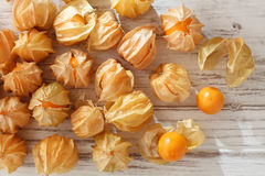 Cape gooseberry physalis fruit ground cherry organic food vegetabl Stock Photo