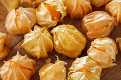 Cape gooseberry physalis fruit ground cherry organic food vegetable Stock Photos