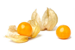 Cape gooseberry physalis fruit ground cherry organic food vegetable Royalty Free Stock Images