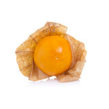 Cape gooseberry on white background Royalty Free Stock Photo