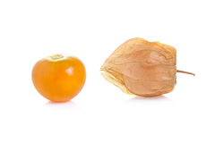 Cape gooseberry on white background Stock Photography