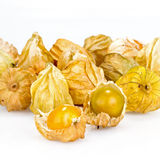 Cape gooseberry on white background Stock Photo