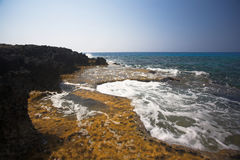 Cape Greco or Cavo Greco, Agia Napa Royalty Free Stock Photos