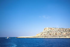 Cape Greco or Cavo Greco, Agia Napa. Cyprus Royalty Free Stock Images