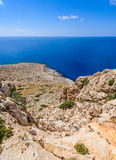 Cape Greco coastline view,cyprus 2 Stock Photos