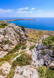 Cape Greco coastline view,cyprus 5 Stock Photography