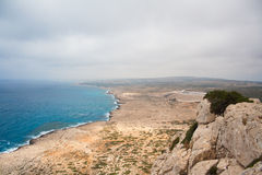 Cape Greco View Stock Photography