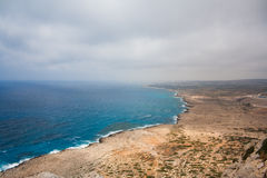 Cape Greco View. View from Cape Greco. Between  Ayia Napa and Protaras Stock Photos