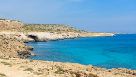 Cape greco view   Royalty Free Stock Images
