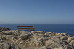 Cape Greko. Mediterranean Sea,Cyprus Royalty Free Stock Photo