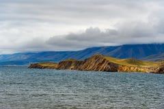 Cape Hadarta. Maloe More on Lake Baikal. Russia. View of Cape Hadarta. Maloe More on Lake Baikal. Russia Stock Image